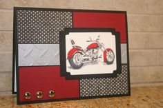 The motorcycle image is from MDS (My Digital Studio from Stampin' Up!).