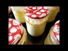 Branza de oi la borcan pentru iarna - YouTube Make It Yourself, Desserts, Foods, Youtube, Kitchens, Tailgate Desserts, Food Food, Deserts, Food Items