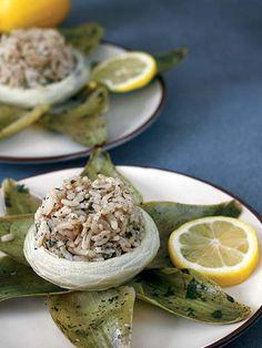 Enginarlı pilav Tarifi - Türk Mutfağı Yemekleri - Yemek Tarifleri