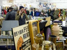 the antiques garage The Best NYC Flea Markets