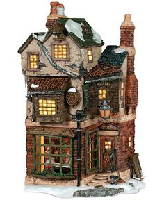 Department 56 Dicken's Village Cratchit's Corner Collectible Figurine - Holiday Lane - For The Home - Macy's