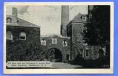 BLAIRSTOWN NJ IVY HALL & ARCHWAY LOCKE HALL BLAIR ACADEMY  YOU CAN BUY THIS GREAT POSTCARD ADDITION FOR YOUR SCRAPBOOK FOR JUST 4.99. CLICK THE PHOTO TO GO TO EBAY AND PURCHASE IT NOW.