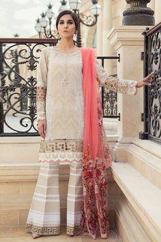 Refreshing and elegant cream 3 piece unstitched dress by Maria B casual collection #springcollection #spring #readytowear #pretwear #unstitched #online #linen #lawncollection #linen #linencollection #chiffon #cotton #embroidered #printed #digital #lahore #karachi #islamabad #newyork #london #pakistan #pakistani #indian #alkaram #limelight #nishat #khaddar #daraz #gulahmed #blackfriday #pakistani_dresses #best_price #indian_dresses #eid #eiddresses #eidcollection