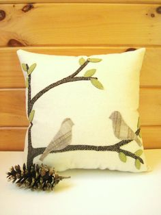 Celebrate Spring Decorative Pillow by AwayUpNorth