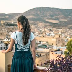 Amazing view in Fes, Morocco. Feeling like in Game of Thrones. #morocco #fesmorocco #travel #sheisnotlost #aroundtheworld