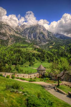 View from Hohenwerfen Castle by Matija Horvat / 500px