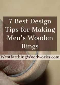 Tips, tricks, and tutorials on how to make handmade wooden rings. Wooden Rings Craft, Wood Rings, Wooden Jewelry, Wire Jewelry, Jewelry Rings, Small Wooden Projects, Small Woodworking Projects, Woodworking Books, How To Make Rings