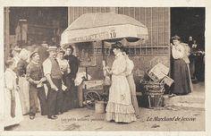 Les petits métiers du Paris d'antan Le marchand de lessive