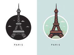 The Landmarks Illustrations | Abduzeedo