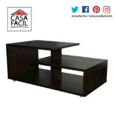 El centro de tu sala debe lucirse con modernidad total y para ello te traemos esta grandiosa mesa