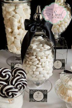 Black & White Candy Bar