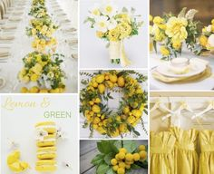 fresh, vibrant, yellow!