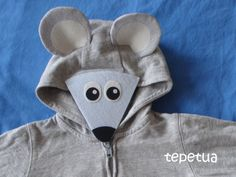 tepetua: DIY - Mause-Kostüm