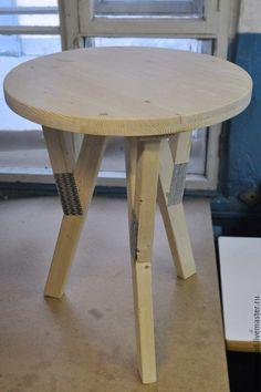 Купить Стол круглый - стол, столик, деревянная мебель, уют в доме, столик журнальный
