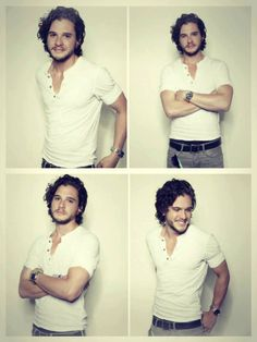 Helloooo Kit Harrington...yes please