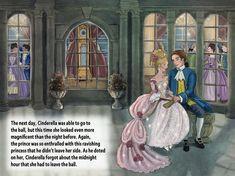 Cinderella illustrations by Sue Rundle-Hughes