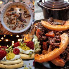 Koolhydraatarme citroencake - Flowcarbfood: koolhydraatarme recepten Pot Roast, Sausage, Paleo, Meat, Ethnic Recipes, Meringue, Food, Fashion, Carne Asada