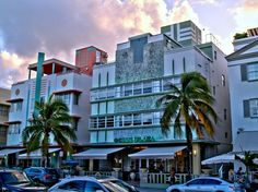 An area of Miami Beach noted for its concentration of over 800 Art Deco buildings all within one square mile. Consider joining the walking tour which takes you past the white- and pastel-colored. Florida Vacation, Miami Florida, One Day Tour, Art Deco Buildings, South Beach Miami, Magic City, Culture Travel, Day Tours, Cafes