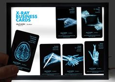 Carte Rayon X Design Graphique Graphisme Infographie Cartes De Visite Originales