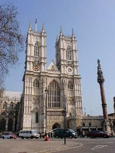 Westminster Abbey, site of every English coronation but two since 1066, and home to the tombs and memorials of over 3,000 notable Britons