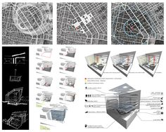 Articles - STUDENTS PROJECTS - DESIGN PROJECTS - PROJECTS2012 - Digital Information Center. Reading hall in Athens