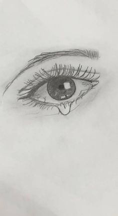 Fashionable drawing tutorial crying eyes — Pages. Eye Drawing Tutorials, Sketches Tutorial, Drawing Techniques, Crying Eye Drawing, Cry Drawing, Sad Drawings, Art Drawings Sketches, Pencil Drawings, Eye Sketch Easy