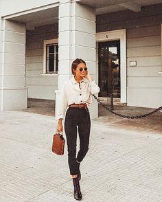 Favourite Fall Outfits for 2019 - Frauen Mode Mode Outfits, Fashion Outfits, Womens Fashion, Fashion Trends, Fashion Clothes, Fashion Ideas, Fashion Tips, Look Fashion, Autumn Fashion