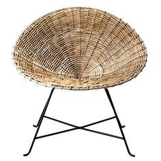 Bloomingville Kubu Chair Braided Rattan Nature