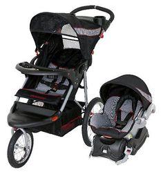 BABY TREND Expedition Jogging Stroller Jogger Travel System - Millennium