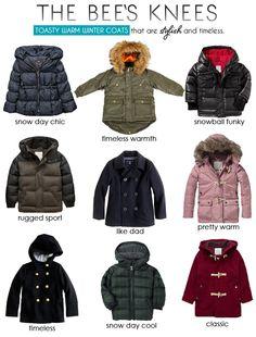 The Bee's Knees | Kids Winter Coats | HEART & HABIT