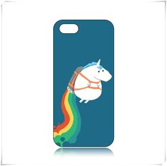 Enjoy fashion!!! cheap Fat Unicorn On Rainbow Pattern Case for iPhone5/5S BTG and find the style you want!!!