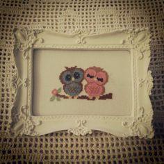 Casal de corujas - quarto de bebe