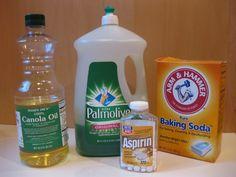 zclaremos bien todos los ingredientes, en especial hemos de disolver correctamente la aspirina y para ello lo mejor es desmenuzar el comprim...