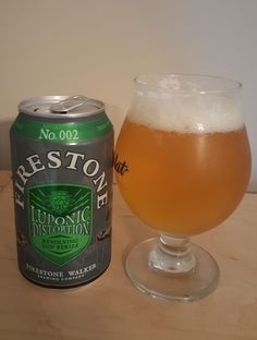Firestone Walker Luponic Distortion Is 5.9 ABV And 59 IBU, This Is Batch  002.
