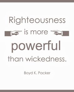 LDS General Conference Quote Boyd K. Packer | October 2013 #ldsconf
