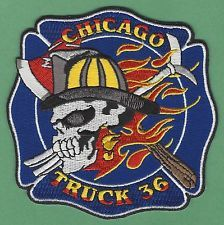 CHICAGO FIRE DEPARTMENT TRUCK COMPANY 36 PATCH