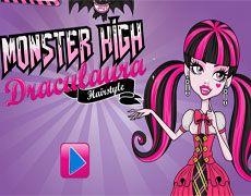 Monster High Draculaura Hairstyle | Juegos Monster High