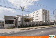 Paisagismo do Malibu. Condomínio fechado de apartamentos localizado em Mogi das Cruzes / SP