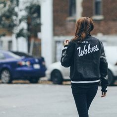 Raised By Wolves x Golden Bear – Varsity Jacket