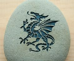 DRAGON Home Decor paperweight collections  engraved by sjengraving, $25.00