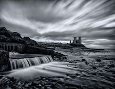 https://flic.kr/p/khFBpp | Hogwell Sewer | I took this long-exposure shot on the beach between Reculver and Minnis Bay. The outflow pictured is called North Stream, according to the map and connects to Hogwell Sewer - a collection of drainage waterways in the nearby farmland. Not nearly as smelly as it sounds!