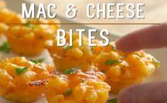 Mini Mac Cheese Bites | Mini Mac and Cheese Bites