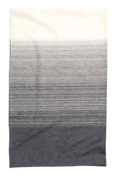 2-pack striped napkins: Napkins in a striped linen and cotton weave. Size 40x40 cm.