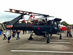 Tin Box Traveller: A Royal Navy helicopter at HMS Collingwood's Open Day, May 2014