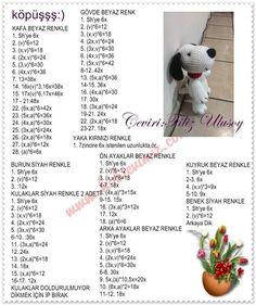 Mesmerizing Crochet an Amigurumi Rabbit Ideas. Lovely Crochet an Amigurumi Rabbit Ideas. Crochet Elephant, Crochet Bunny, Crochet Dolls, Free Crochet, Crochet Dog Patterns, Amigurumi Patterns, Doll Patterns, Diy Crafts Crochet, Amigurumi Tutorial