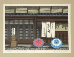 K-Nishijima-Signed-Japanese-Woodblock-Print-Morning-Rain-Kyo-Horita-86-500