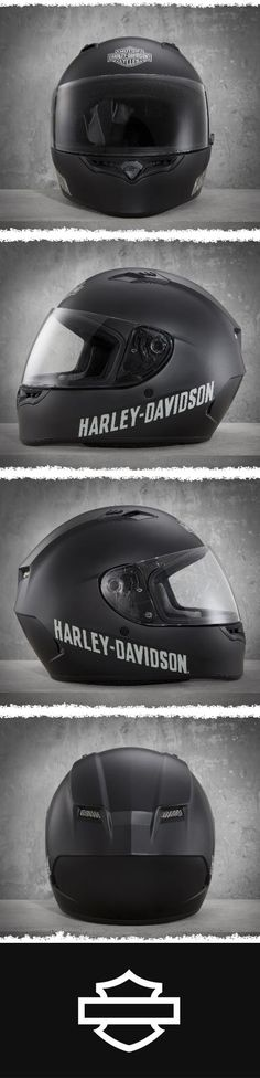 It's an aggressive looking lid that packs a serious punch but won't knock out your wallet. | Harley-Davidson Fulton Full-Face Helmet