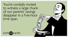 Hilarious wedding invitation!