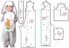 Шьём костюм зайчика (Шитье и крой)