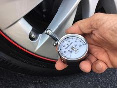 Precision Tire Pressure Gauge for Tesla Owners Tyre Gauge, Tesla Owner, Tire Pressure Gauge, Used Tires, Auto Service, Oil Change, Car Shop, Plastic Case, Gauges
